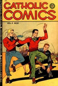 Cover for Catholic Comics (Charlton, 1946 series) #v2#8