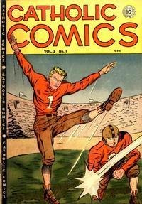 Cover Thumbnail for Catholic Comics (Charlton, 1946 series) #v3#1