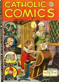 Cover Thumbnail for Catholic Comics (Charlton, 1946 series) #v3#2