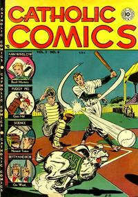 Cover Thumbnail for Catholic Comics (Charlton, 1946 series) #v3#6