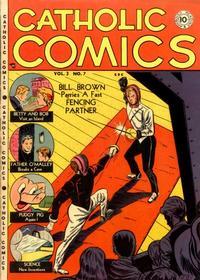 Cover Thumbnail for Catholic Comics (Charlton, 1946 series) #v3#7
