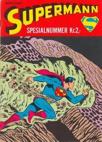 Cover Thumbnail for Supermann Spesialnummer (Serieforlaget / Se-Bladene / Stabenfeldt, 1966 series) #[nn]