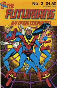 Cover Thumbnail for Futurians by Dave Cockrum (Lodestone, 1985 series) #3