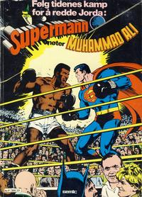 Cover Thumbnail for Supermann møter Muhammad Ali (Semic, 1978 series)