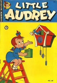 Cover Thumbnail for Little Audrey (St. John, 1948 series) #18