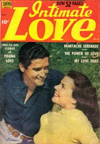Cover Thumbnail for Intimate Love (Pines, 1950 series) #6