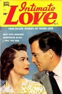 Cover Thumbnail for Intimate Love (Pines, 1950 series) #15