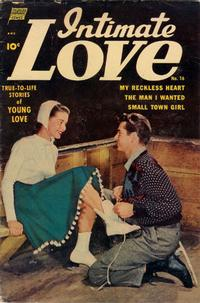 Cover Thumbnail for Intimate Love (Pines, 1950 series) #16