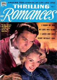 Cover Thumbnail for Thrilling Romances (Pines, 1949 series) #7