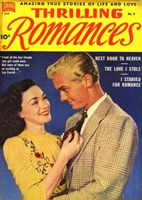 Cover Thumbnail for Thrilling Romances (Pines, 1949 series) #8