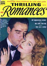 Cover Thumbnail for Thrilling Romances (Pines, 1949 series) #10