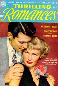 Cover Thumbnail for Thrilling Romances (Pines, 1949 series) #11
