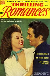 Cover Thumbnail for Thrilling Romances (Pines, 1949 series) #12