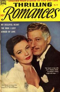 Cover Thumbnail for Thrilling Romances (Pines, 1949 series) #14