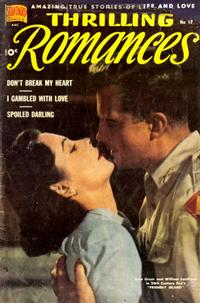 Cover Thumbnail for Thrilling Romances (Pines, 1949 series) #17