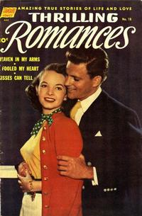 Cover Thumbnail for Thrilling Romances (Pines, 1949 series) #18