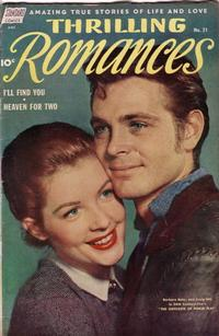 Cover Thumbnail for Thrilling Romances (Pines, 1949 series) #21
