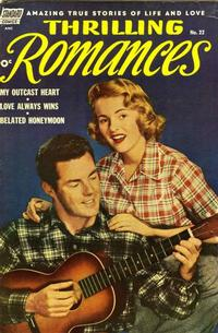 Cover Thumbnail for Thrilling Romances (Pines, 1949 series) #22