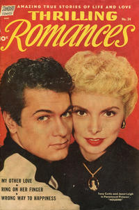 Cover Thumbnail for Thrilling Romances (Pines, 1949 series) #24