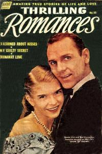 Cover Thumbnail for Thrilling Romances (Pines, 1949 series) #25