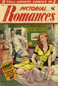 Cover Thumbnail for Pictorial Romances (St. John, 1950 series) #18
