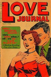 Cover Thumbnail for Love Journal (Orbit-Wanted, 1951 series) #13