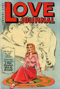 Cover Thumbnail for Love Journal (Orbit-Wanted, 1951 series) #14