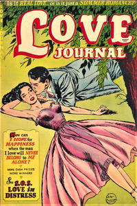 Cover Thumbnail for Love Journal (Orbit-Wanted, 1951 series) #15