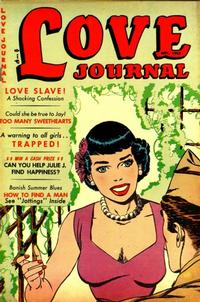 Cover Thumbnail for Love Journal (Orbit-Wanted, 1951 series) #20