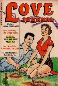 Cover Thumbnail for Love Journal (Orbit-Wanted, 1951 series) #25