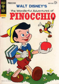 Cover Thumbnail for The Wonderful Adventures of Pinocchio (Western, 1963 series) #1