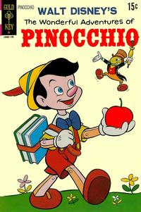 Cover Thumbnail for Walt Disney's the Wonderful Adventures of Pinocchio (Western, 1971 series) #[nn]