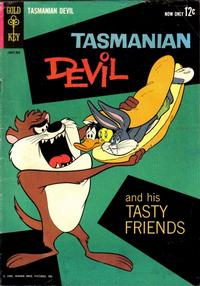 Cover for Tasmanian Devil and His Tasty Friends (Western, 1962 series) #1