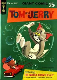 Cover Thumbnail for Tom and Jerry The Mouse from T.R.A.P. (Western, 1966 series) #1