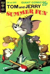 Cover Thumbnail for Tom and Jerry Summer Fun (Western, 1967 series) #1