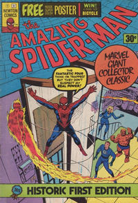 Cover Thumbnail for The Amazing Spider-Man (Newton Comics, 1975 series) #1
