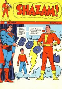 Cover Thumbnail for Shazam! (Illustrerte Klassikere / Williams Forlag, 1974 series) #1/1974