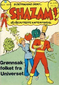 Cover Thumbnail for Shazam! (Illustrerte Klassikere / Williams Forlag, 1974 series) #9/1974