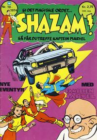 Cover Thumbnail for Shazam! (Illustrerte Klassikere / Williams Forlag, 1974 series) #10/1974