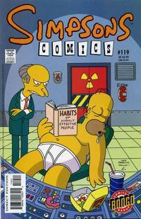Cover Thumbnail for Simpsons Comics (Bongo, 1993 series) #119
