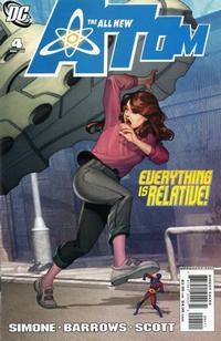 Cover Thumbnail for The All New Atom (DC, 2006 series) #4