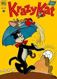 Cover Thumbnail for Krazy Kat (Dell, 1951 series) #2