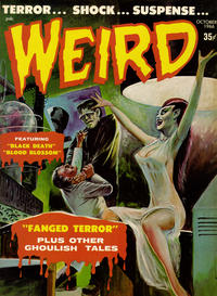 Cover Thumbnail for Weird (Eerie Publications, 1966 series) #v1#12