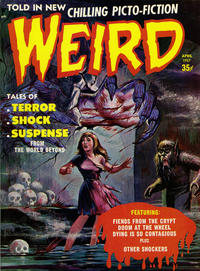 Cover Thumbnail for Weird (Eerie Publications, 1966 series) #v2#2