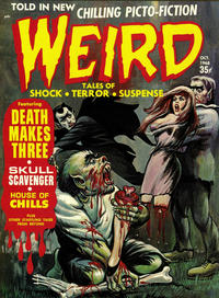 Cover Thumbnail for Weird (Eerie Publications, 1966 series) #v2#9
