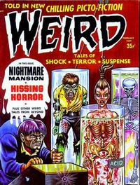 Cover for Weird (Eerie Publications, 1966 series) #v3#1