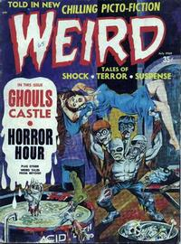 Cover for Weird (Eerie Publications, 1966 series) #v3#3