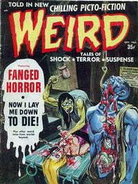 Cover Thumbnail for Weird (Eerie Publications, 1966 series) #v3#4