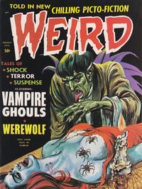 Cover Thumbnail for Weird (Eerie Publications, 1966 series) #v4#4