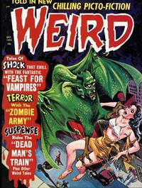 Cover Thumbnail for Weird (Eerie Publications, 1966 series) #v4#5